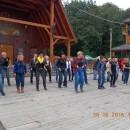 Ustanawianie rekordu Polski w ilości osób tańczących taniec liniowy